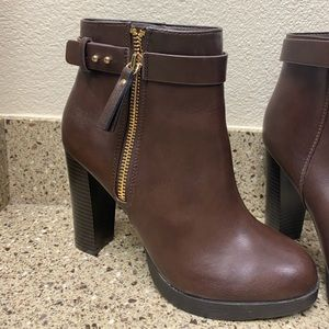 Forever21 Faux Leather Boots